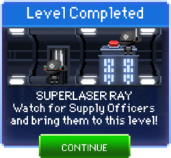 Message Superlaser Ray Complete