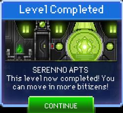 Message Serenno Apts Complete