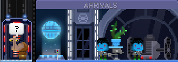 Ithorian at Arrivals