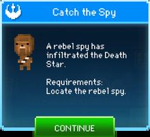 Message Catch the Spy Chewbacca