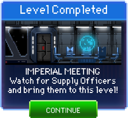 Message Imperial Meeting Complete