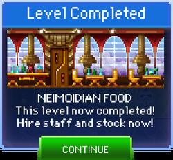 Message Neimoidian Food Complete