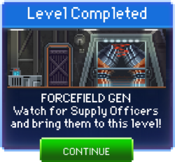 Message Forcefield Gen Complete