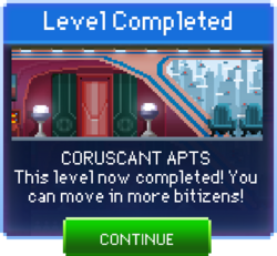 Message Coruscant Apts Complete