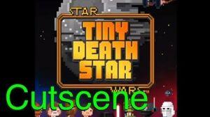 Scene Obi-Wan Kenobi and Tractor Beam (Star Wars Tiny Death Star)