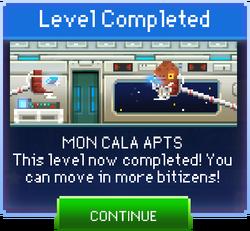 Message Mon Cala Apts Complete