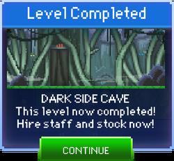 Message Dark Side Cave Complete