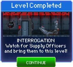 Message Interrogation Complete