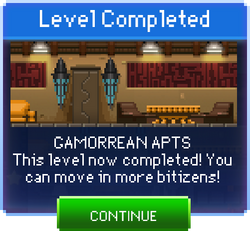 Message Gamorrean Apts Complete