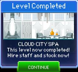 Message Cloud City Spa Complete