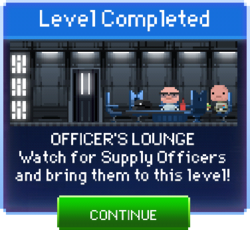 Message Officer's Lounge Complete