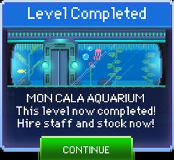 Message Mon Cala Aquarium Complete