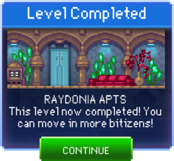 Message Raydonia Apts Complete