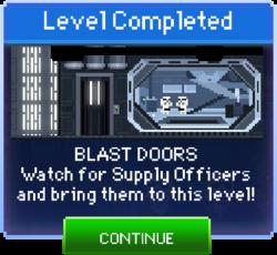 Message Blast Doors Complete