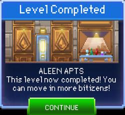 Message Aleen Apts Complete