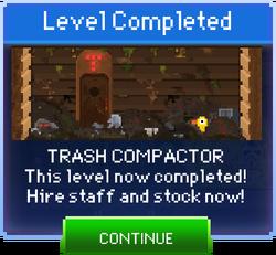 Message Trash Compactor Complete