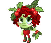 Holly Dryad baby