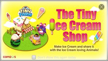 The Tiny Ice Cream Shop