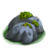 Debris small mossy rock