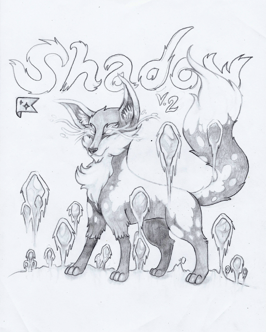 So I Decided To Wrap It Around The Shadow Monsters Lower Body Also Put Moon In Background Because Figured Would Match