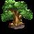 Debris small tree