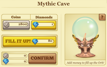 Mythic cave additions
