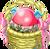 Decoration 1x1 Puff Egg