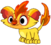 Monster firemonster baby