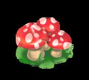 Decoration 1x1 mushrooms red tn@2x