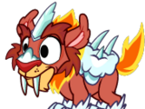Frozenflame Monster