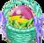 Decoration 1x1 Voltleaf Egg