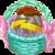 Decoration 1x1 Thunder Egg