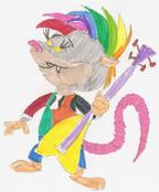 Guitar Possum
