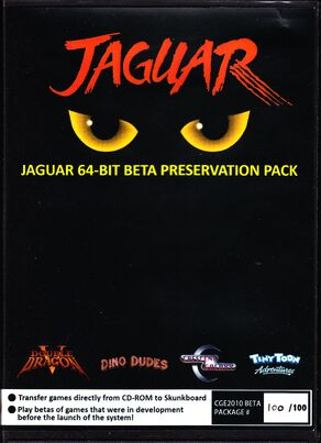 Atari Jaguar Jaguar 64 Bit Beta Preservation Pack Tiny Toons Final Front Cover