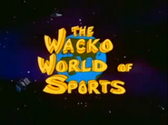 The Wacko World of Sports