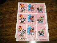 Vintage stickers