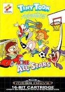 TTA Acme All-star, sega mega drive front cover