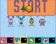 Babs, Buster, Gogo, Plucky and Dizzy. Wacky Sports