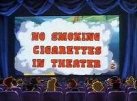 HowISpentMyVacation-NoSmokingCigarettesInTheater