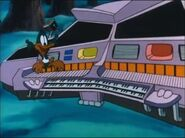 Plucky and the organ