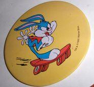 1000x1000 Pin Buster Bunny