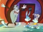 Bugs Bunny Disguised as A Tasmanian Devil