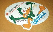 Plucky Konami sticker