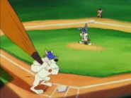 Arnold playing baseball in K-Acme TV