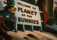 HareTodayGoneTomorrow-WelcomeToThePlanetOfTheBunniesSign