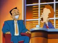 Arsenio Hall and David Letterman