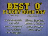 Best O' Plucky Duck Day