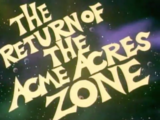 The Return to the Acme Acres Zone