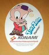Hamton Konami sticker