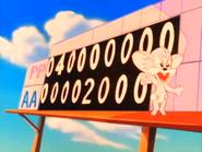 Sneezer scoreboard